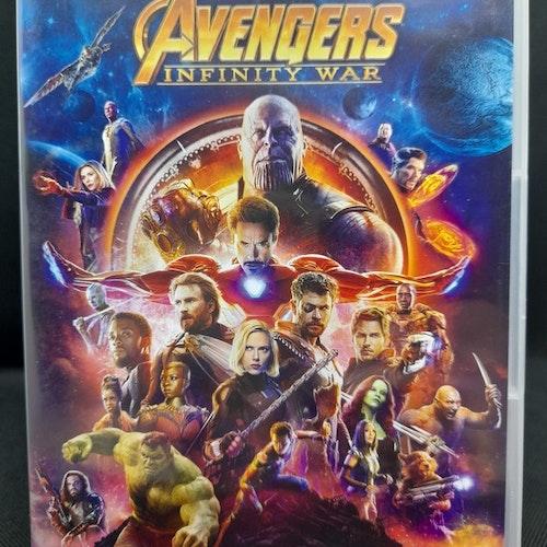 Avengers Infinity War (Beg. DVD)