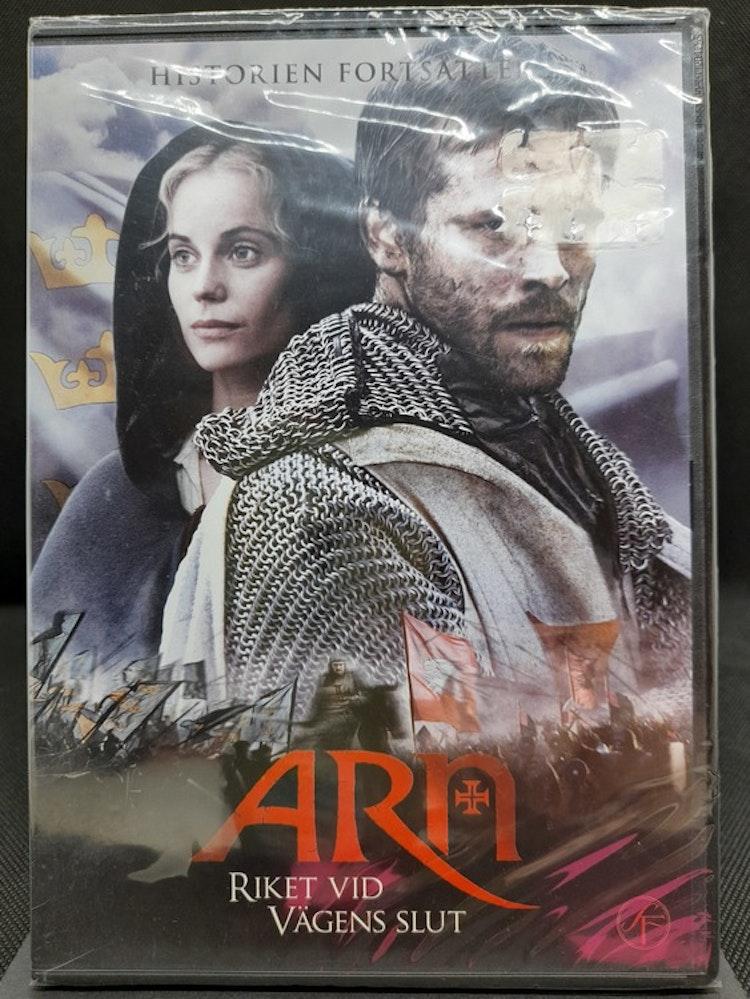 Arn - Riket vid vägens slut (Beg. DVD)