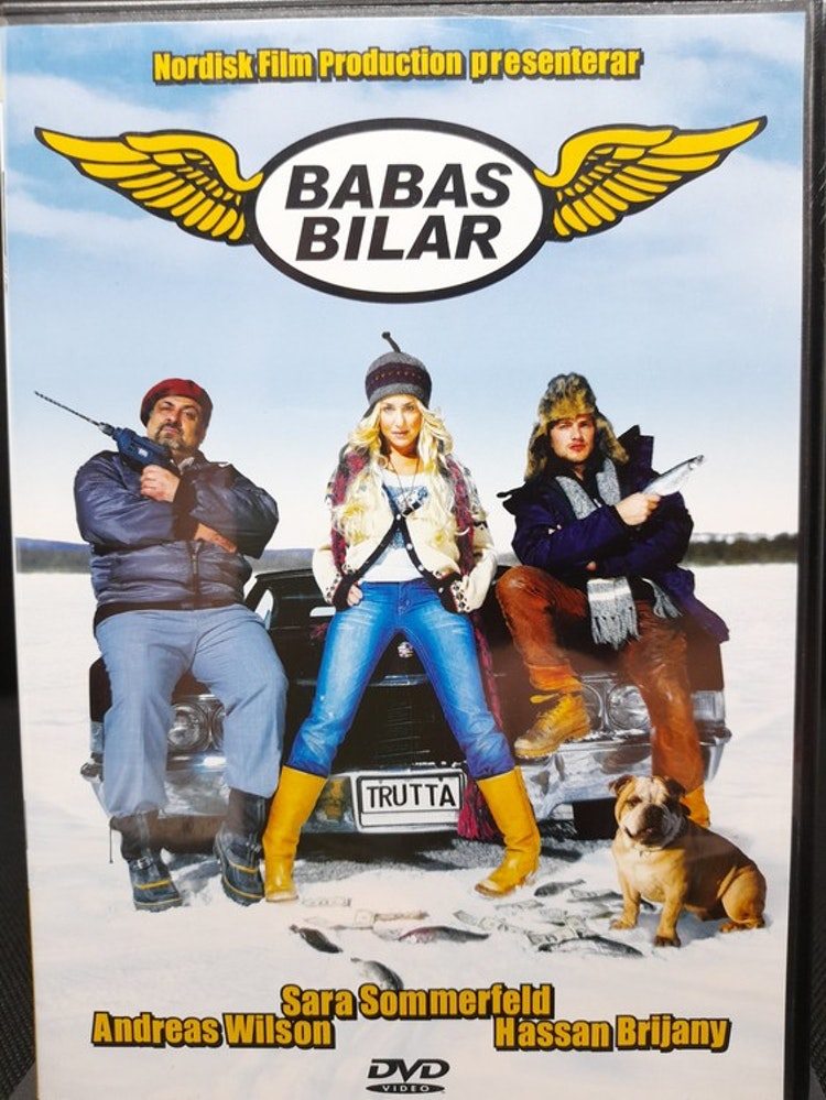 Babas bilar (Beg. DVD)