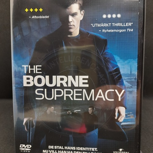 The Bourne Supremacy (Beg. DVD)