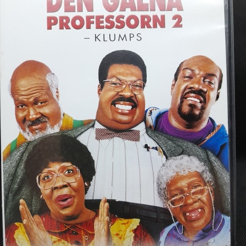 Den galna professorn 2 (Beg. DVD)