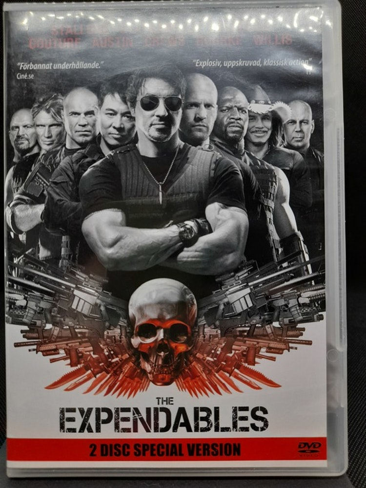 The Expendables (Beg. DVD)