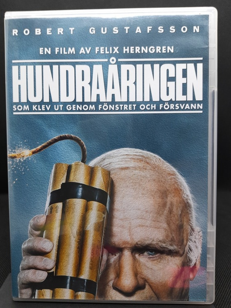 Hundraåringen som klev ut genom fönstret och försvann (Beg. DVD)