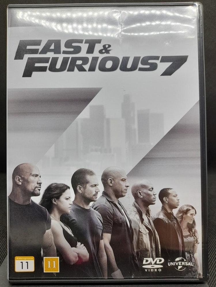 Fast & Furious 7 (Beg. DVD)