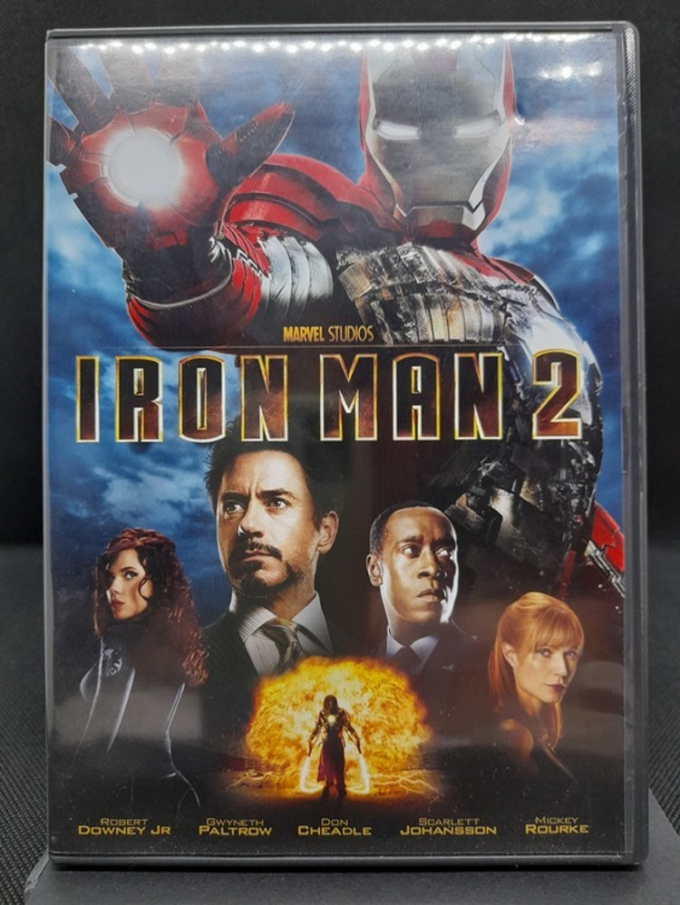 Iron Man 2 (Beg. DVD)