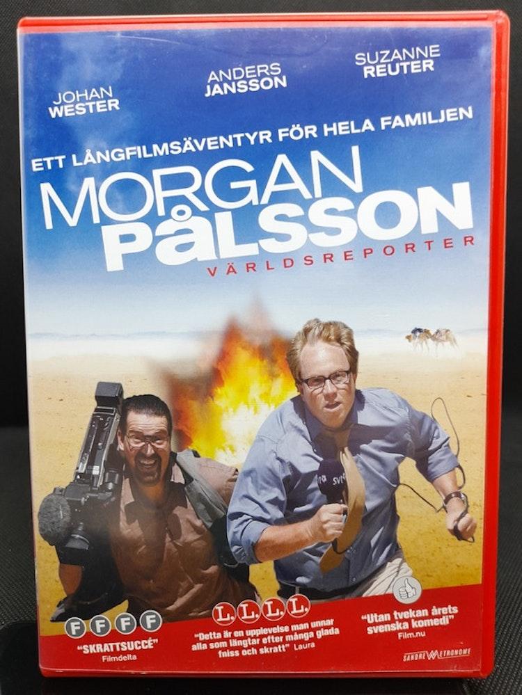 Morgan Pålsson: Världsreporter (Beg. DVD)