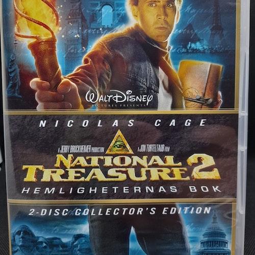 National Treasure 2: Hemligheternas bok (Beg. DVD)