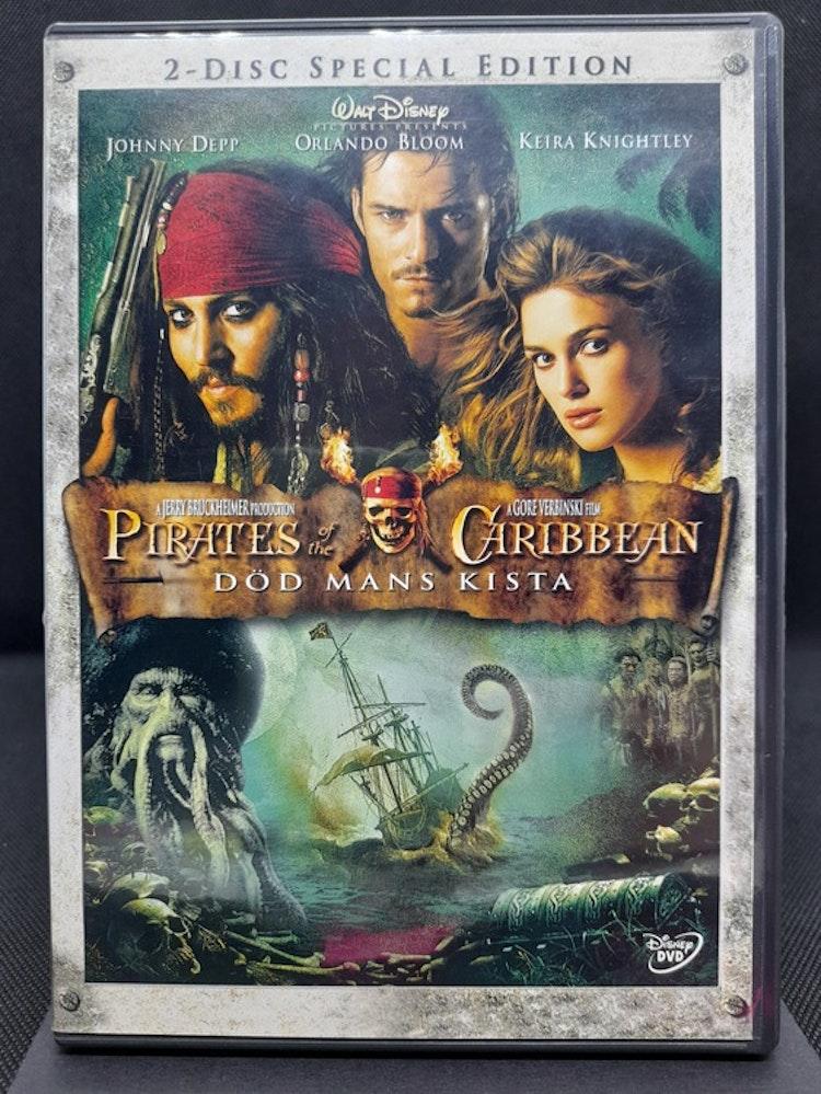 Pirates of The Caribbean : Död mans kista (Beg. DVD)