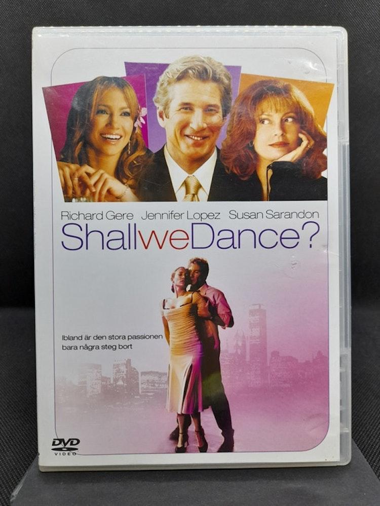 Shall We Dance? (Beg. DVD, Smalt fodral)