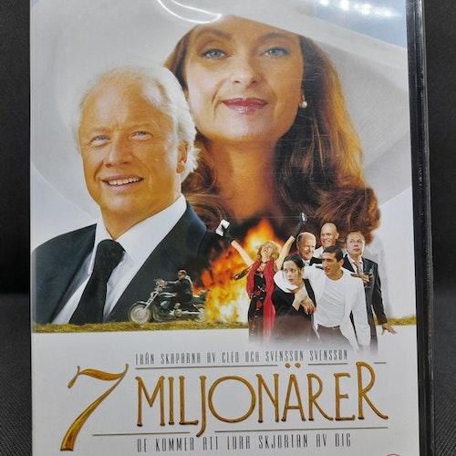 7 Miljonärer (Beg. DVD)