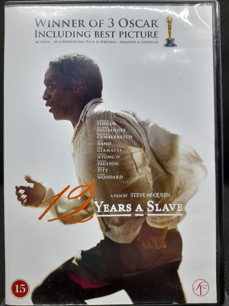 12 Years A Slave (Beg. DVD)