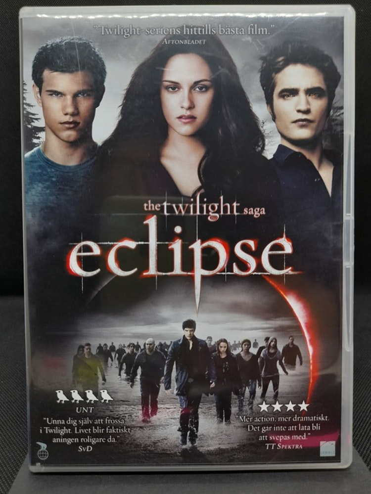 Twilight Saga, The - Eclipse (Beg. DVD)