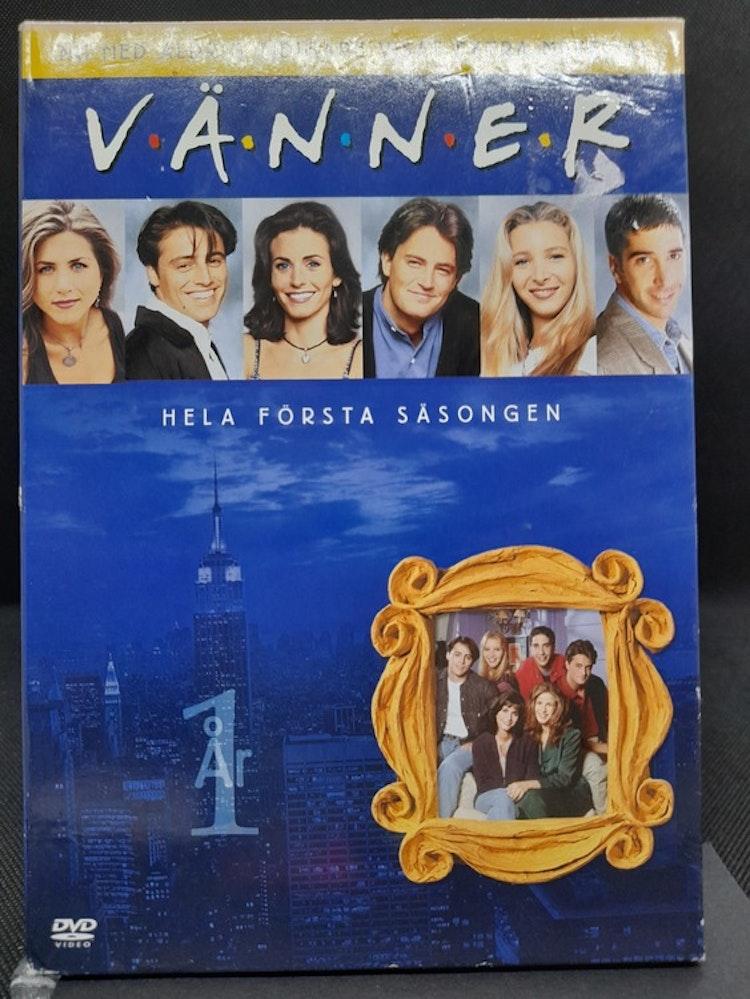 Friends/Vänner - Säsong 1 (Beg. DVD Slipcase)
