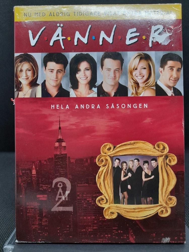 Friends/Vänner - Säsong 2 (Beg. DVD Slipcase)