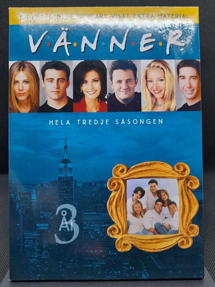 Friends/Vänner - Säsong 3 (Beg. DVD Slipcase)