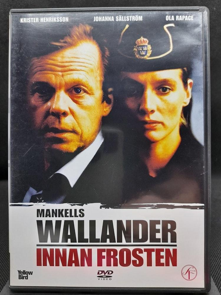 Wallander: Innan frosten (Beg. DVD)