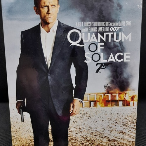 James Bond 007: Quantum of Solace (Beg. DVD Slipcase)