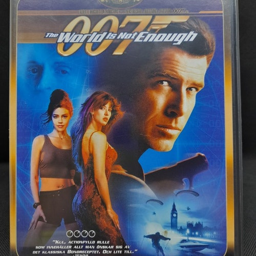 James Bond 007: The World is Not Enough  (Beg. DVD )