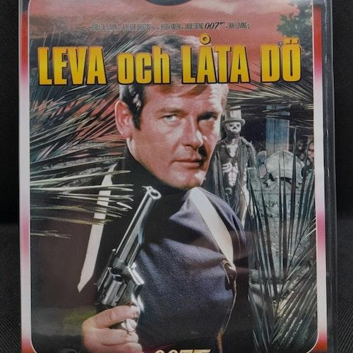 James Bond 007: Leva och låta dö (Beg. DVD )