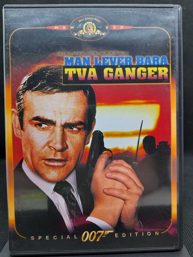 James Bond 007: Man lever bara två gånger (Beg. DVD)