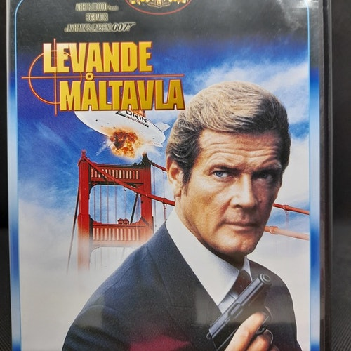 James Bond 007: Levande måltavla (Beg. DVD)