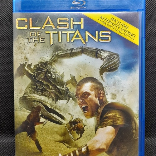 Clash of The Titans (Beg. Blu Ray)