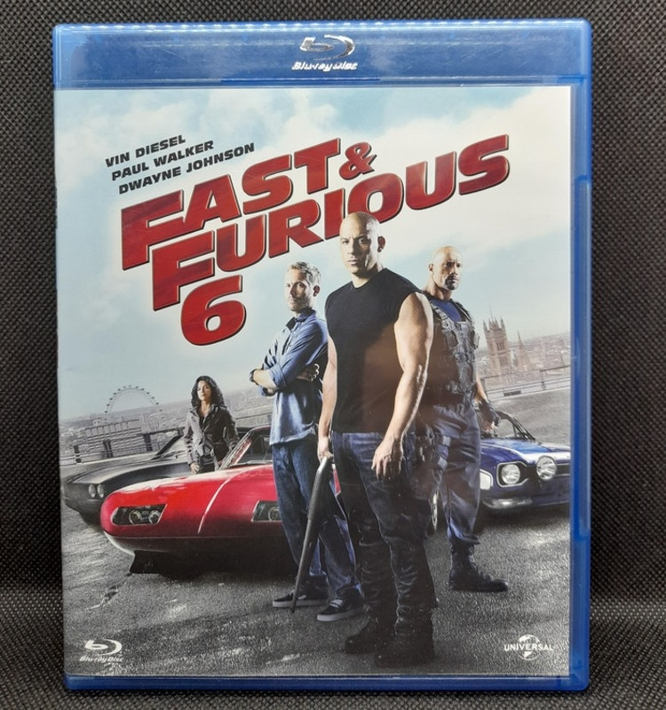 Fast & Furious 6 (Beg. Blu Ray)