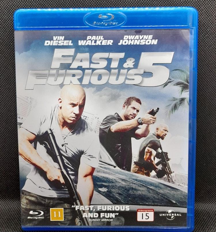 Fast & Furious 5 (Beg. Blu Ray)