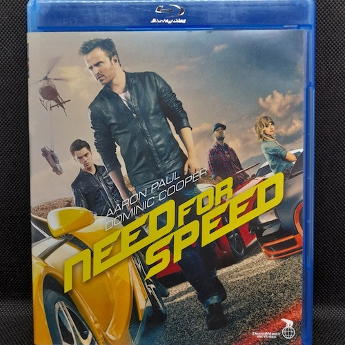 Need for speed (Beg. Blu Ray)