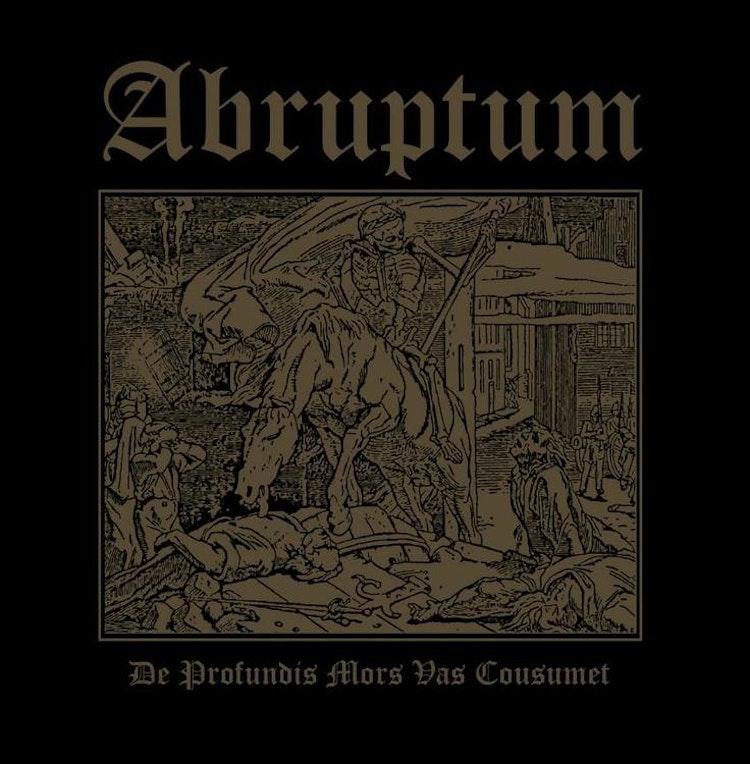 """Abruptum - De Profundis Mors Vas Cousumet (Mini-LP 12"""" Ltd.)"""