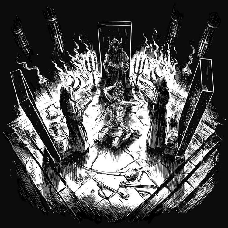 Blood Chalice - Sepulchral Chants of Self-Destruction (LP Ltd.)