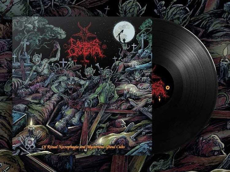 Caedes Cruenta - Of Ritual Necrophagia and Mysterious Ghoul Cults (2xLP Ltd.)
