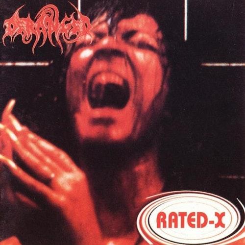 Deranged - Rated-X (LP Ltd.)