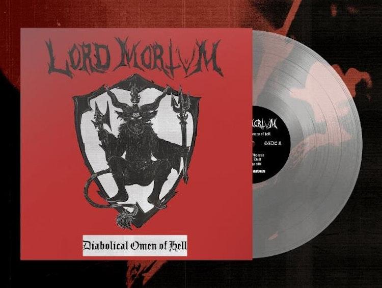 Förbokning: Lord Mortvm - Diabolical Omen Of Hell (LP Ltd.)