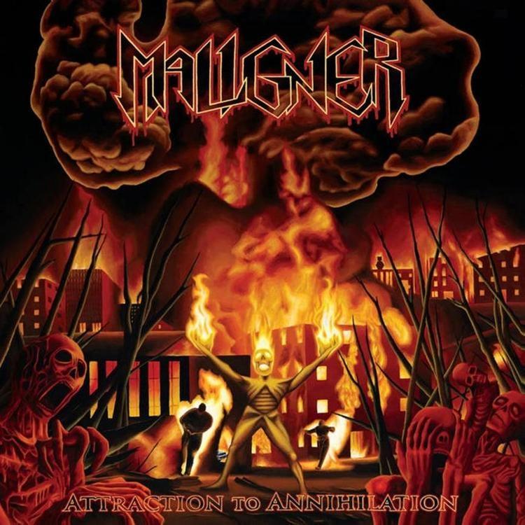 Maligner - Attraction to Annihilation (LP Ltd.)