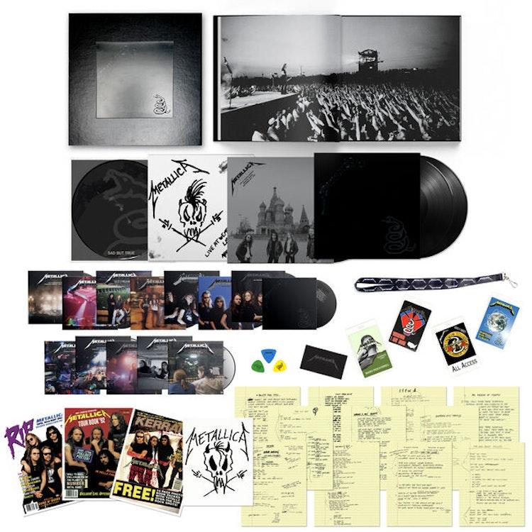 Förbokning: Metallica - Metallica [The Black Album] (Ltd. 6LP, 14CD, 6DVD, Bok)