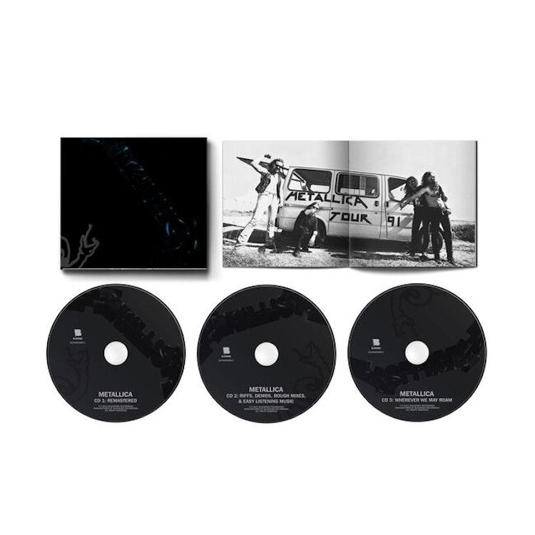 Metallica - Metallica [The Black Album] (3CD, Booklet)