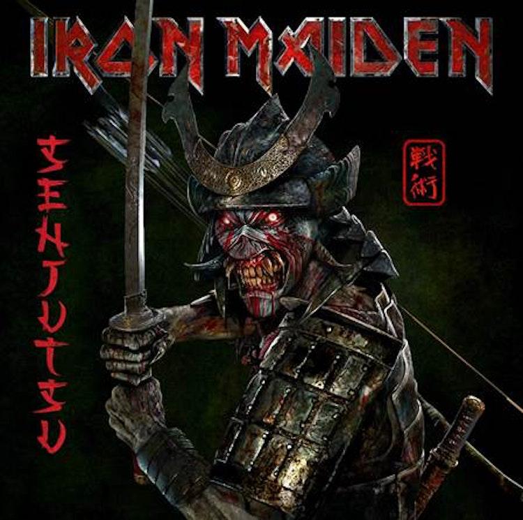 Förbokning: Iron Maiden - Senjutsu (2CD Digipak)
