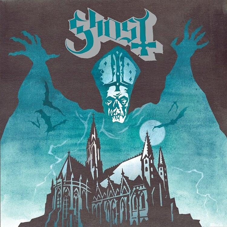 Ghost - Opus Eponymous  (LP Ltd. Blue / Yellow Splatter)