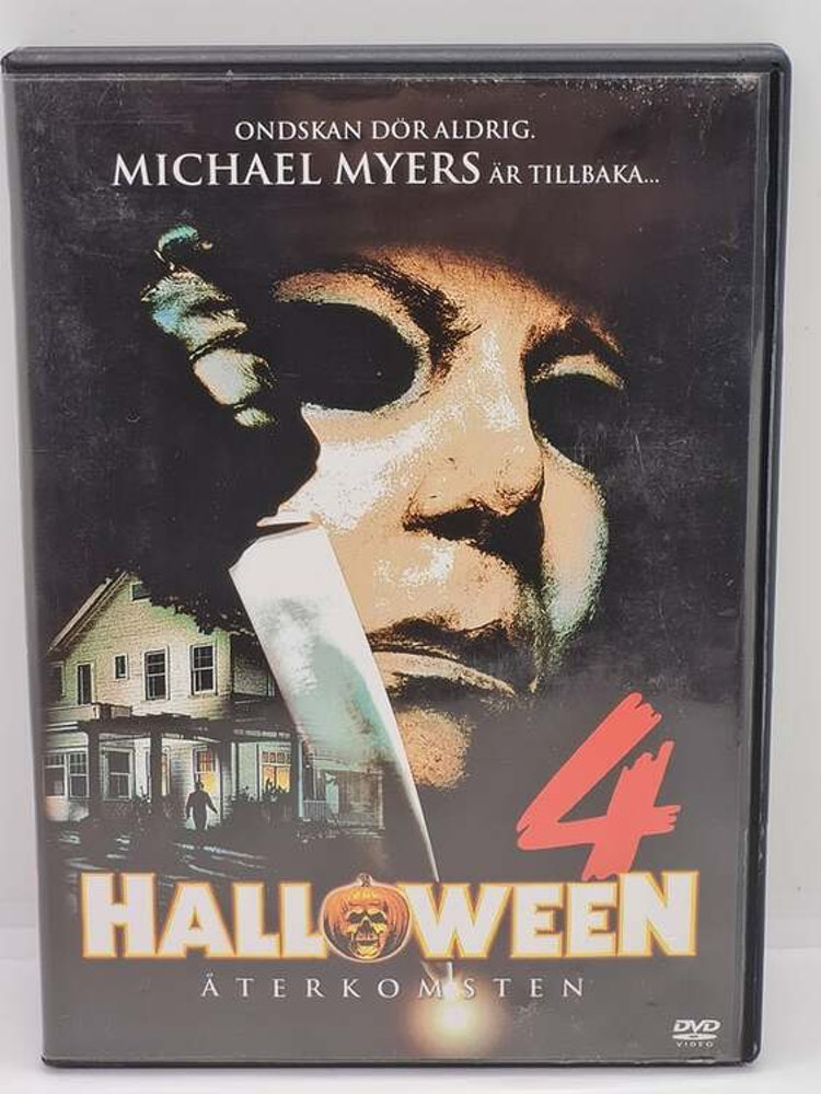 Halloween 4 - Återkomsten (Beg. DVD)