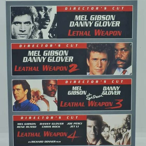 Lethal Weapon Collection [1-4] (Beg. DVD)