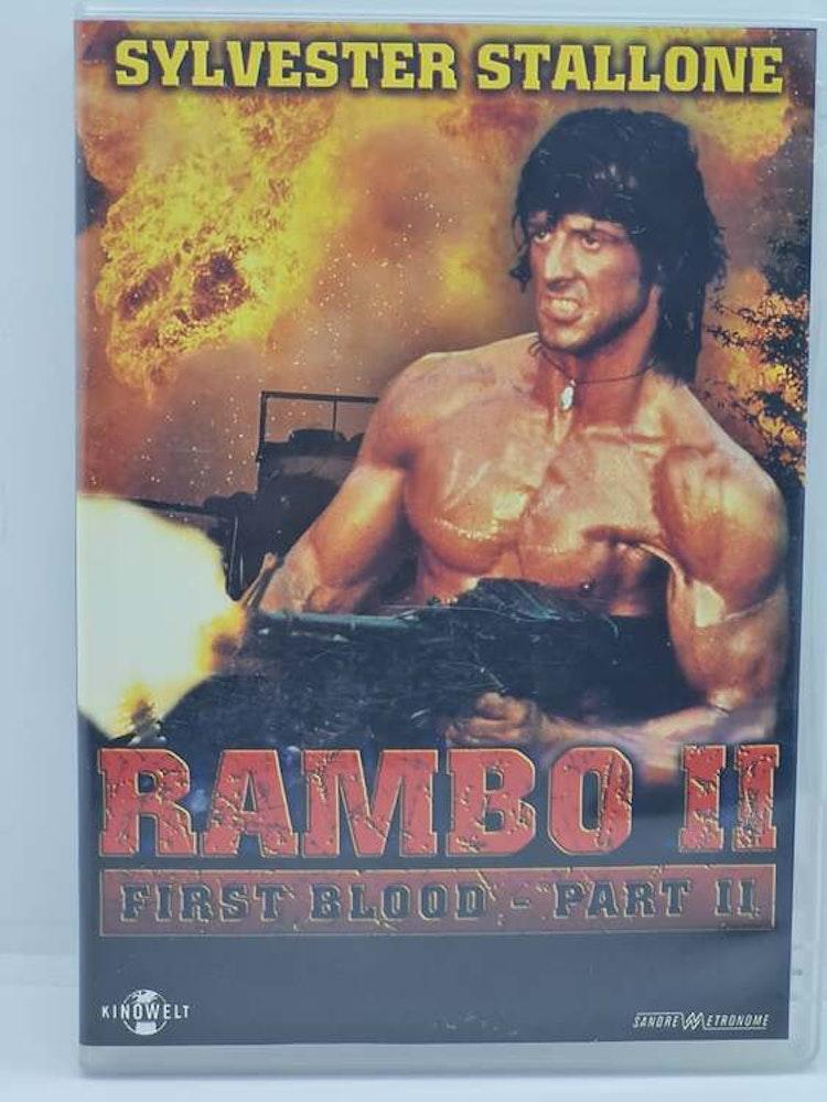 Rambo - First Blood Part II (Beg. DVD)