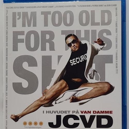 I Huvudet På Van Damme (Beg. Blu-Ray)