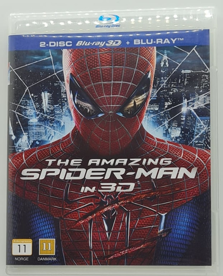 The Amazing Spider-Man (Beg. Blu-Ray + 3D Blu-Ray)