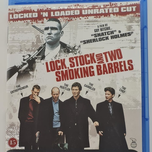 Lock, Stock And Two Smoking Barrels [Unrated Cut] (Beg. Blu-Ray)