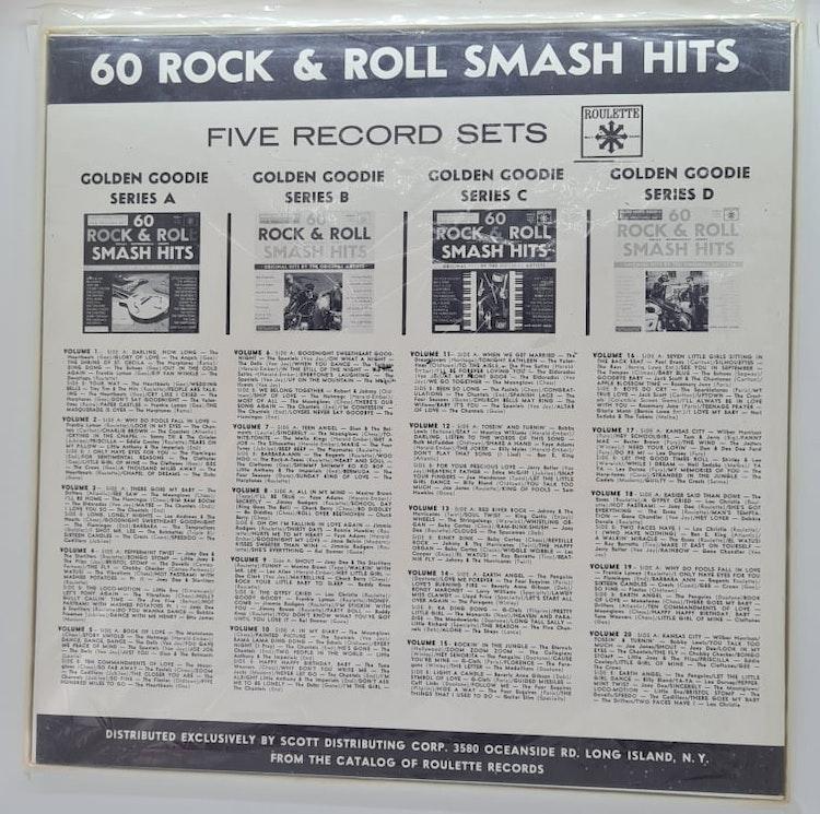 Various Artists - 60 Rock & Roll Smash Hits (Beg. 5x LP)