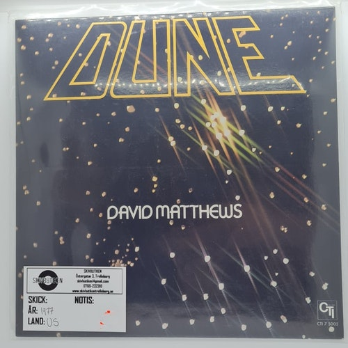 David Matthews - Dune (Beg. LP)