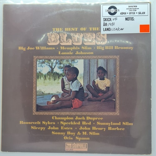 Various Artists - The Best Of The Blues (Beg. LP)