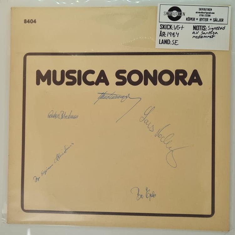Musica Sonora - Musica Sonora (Beg. LP Signerad)