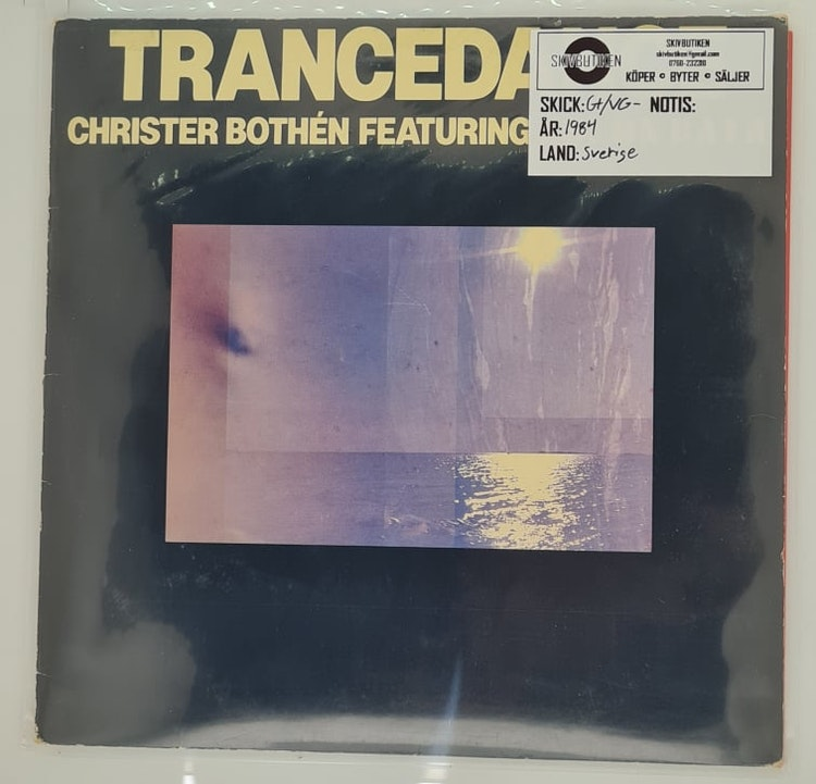 Christer Bothén - Trancedance (Beg. LP)